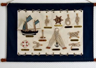 détail marine noeuds